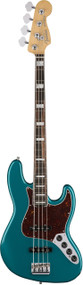 Fender American Elite Jazz Bass Ocean Turquoise with Case