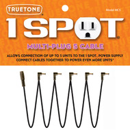 Truetone MC5 1 Spot Multi-Plug 5 Cable Daisy Chain
