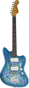 Fender MIJ FSR Traditional '60s Blue Flower Jazzmaster w/gig bag