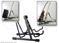 On Stage Stands GS7462DB Pro A-Frame Double Guitar/Amp Stand