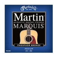 Martin M-2200 Marquis Phosphor Bronze Medium 13-56 Acoustic Guitar Strings