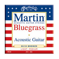 Martin M-240 Traditional 80/20 Bronze Bluegrass 12-56 Acoustic Guitar Strings