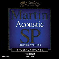 Martin MSP4200 SP Phosphor Bronze Medium 13-56 Acoustic Guitar Strings