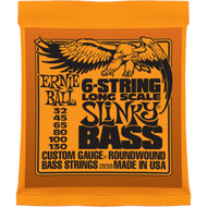 Ernie Ball 2838 6-String Slinky 32-130 Electric Bass Strings