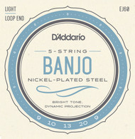 D'Addario EJ60 Nickel Light 9-20 5-string Banjo Strings