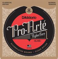 D'Addario EJ45 Pro-Arte Nylon Normal Tension Classical Guitar Strings