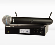 Shure BLX24R/B58 Handheld Wireless with Beta 58 capsule