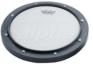 Remo RT-0008-00 Coated 8 inch Practice Pad, Gray