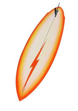 1976 Lightning Bolt Surfboard by Terry Martin