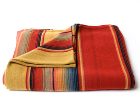 Serape Red Mustard