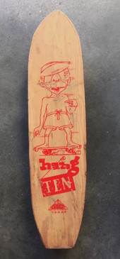 Hang Ten 'Murf The Surf' 1960s Skateboard
