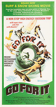 Go for It Poster, 1976 Surf Poster