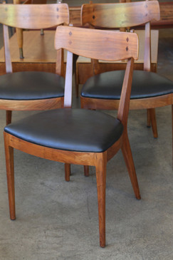 Set of 4 Dining Chairs, Kipp Stewart and Stuart MacDougall for Drexel, 1950s