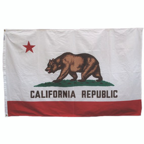 Vintage California Flag, 3 x 5