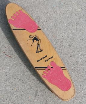 1960s Boss Man Skateboard
