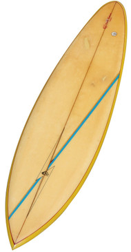 1970s Lightning Bolt Vintage Surfboard, All Original, by Darrell Beckmeier, Hawaii