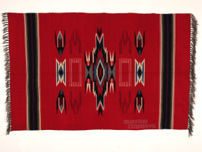 Original 1930s Chimayo Blanket in Excellent, Unused Condition