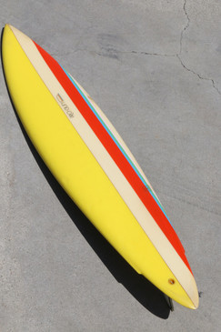 1975 Natural Progression Topanga Canyon Surfboard, All Original