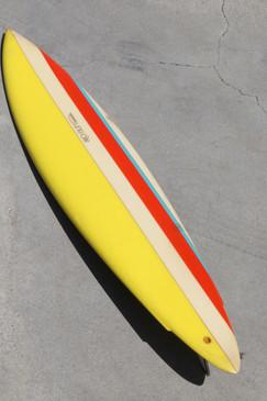 1975 Natural Progression Topanga Canyon Surfboard, All Original