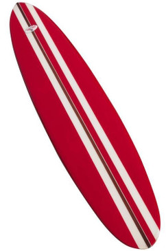 Greg Noll Surfboard Early 1960s, Red, White and Wood, Fully Restored