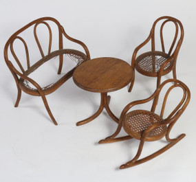 Thonet Bentwood Doll Furniture, circa 1860