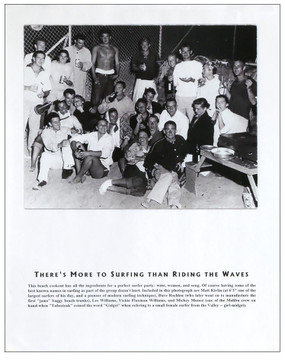 """""""More to Surf Than Riding Waves"""" Group Photo  Vintage Surf Poster"""