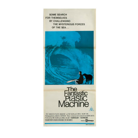 """The Fantastic Plastic Machine"" Vintage Surf Poster, 1969"