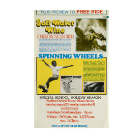 Salt Water Wine and Spinning Wheels  Film Promo, Australia 1970s