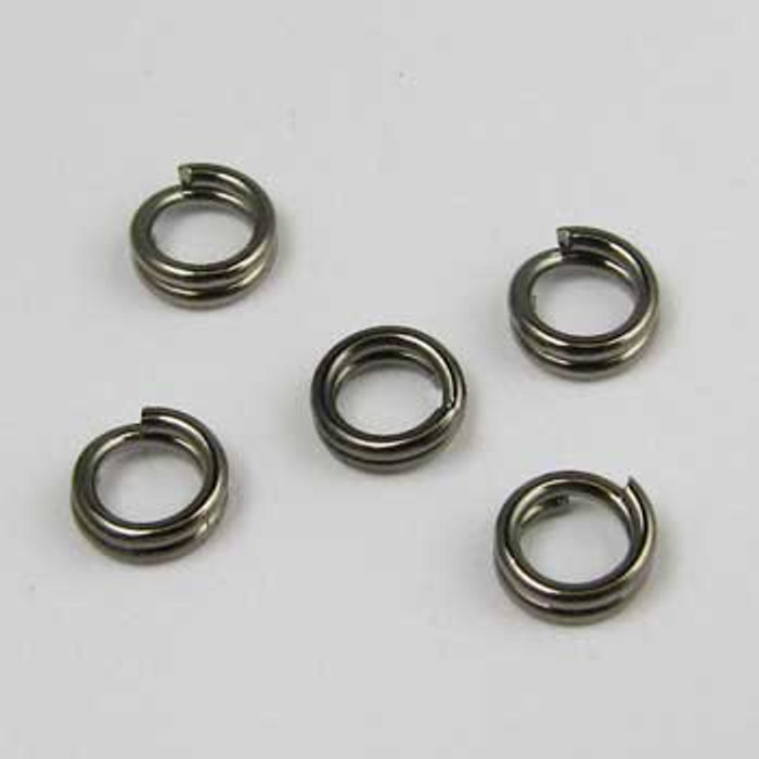 BLP005 - 5mm Split Ring, Gunmetal Plated (pkg of 50)