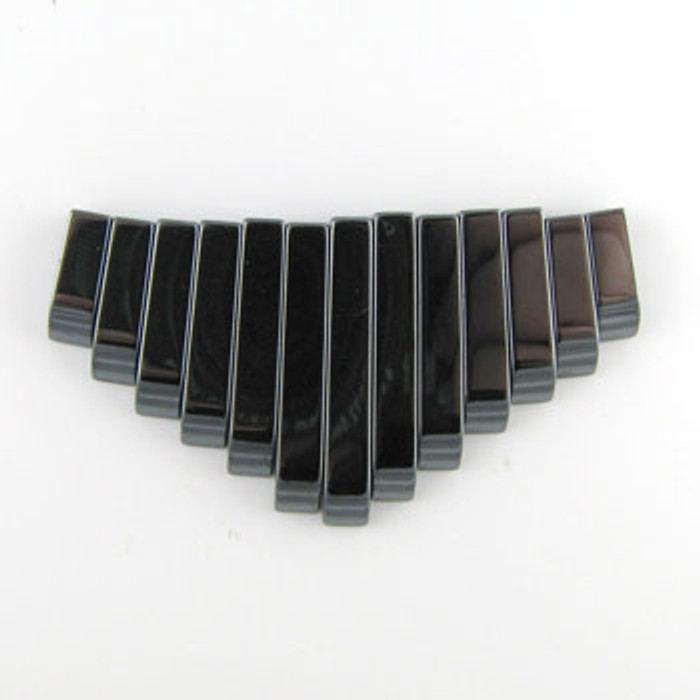 CL0003 - Hematite Collar (13 pieces)