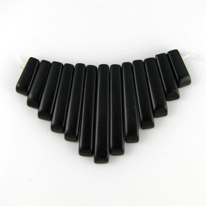 CL0007 - Black Onyx Collar (13 pieces)