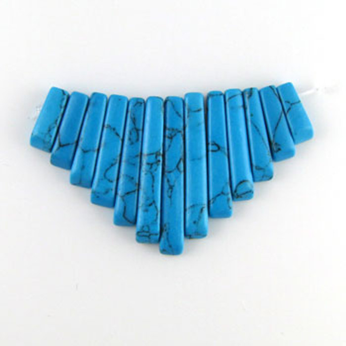 CL0008 - Turquoise, Philippines Collar (13 pieces)