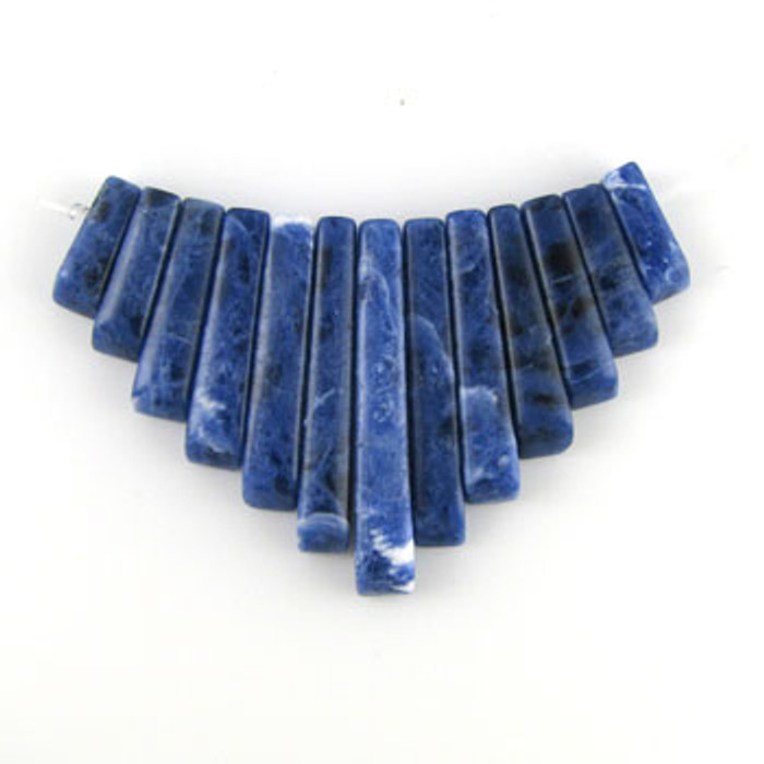 CL0011 - Sodalite Collar (13 pieces)