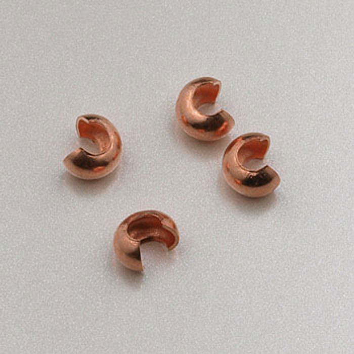 COP0016 - Crimp Covers, Solid Copper (pkg of 50)