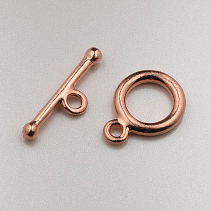 COP0033 - 14mm Toggle Clasp, Copper Plated (pkg of 25)