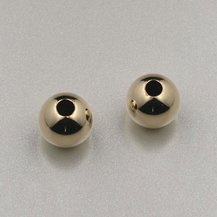 GF0004 - 5mm Round, Gold-Fill (pkg of 25)