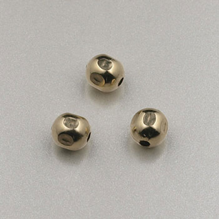 GF0026 - 4mm Faceted Round, Gold-Fill (pkg of 25)
