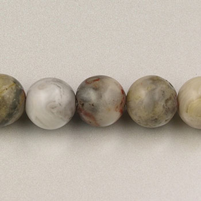 SPS0025 - Crazy Lace Agate, 4MM Round (16 in. strand)