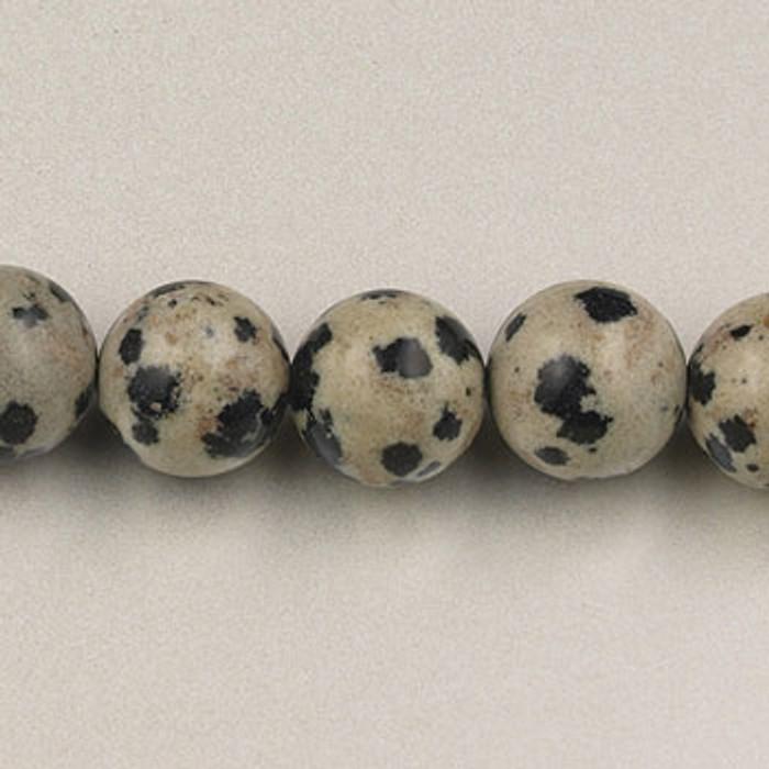 SPS0032 - Dalmatian Jasper, 4MM Round (16 in. strand)
