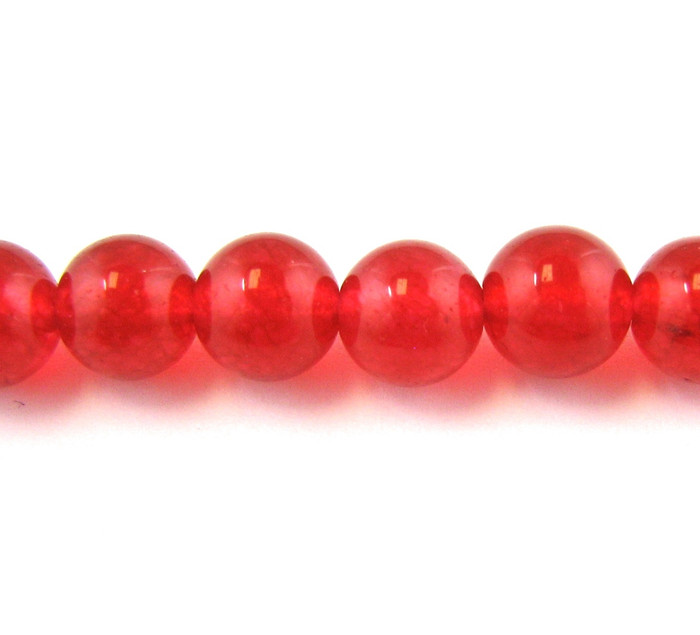 SPS0068 - Red Jade, 4MM Round (16 in. strand)