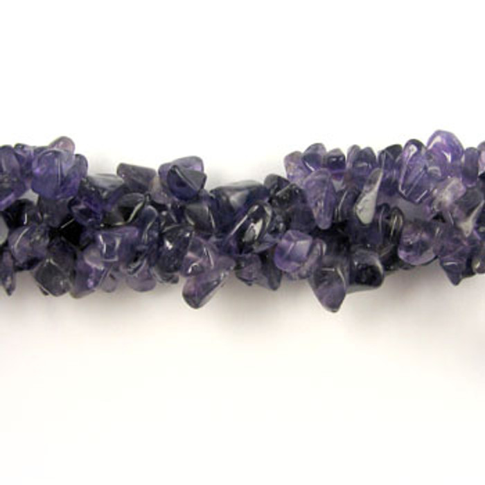 SPSC001 - Amethyst Stone Chip Beads (36 in. strand)