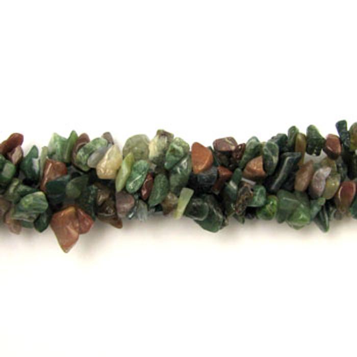 SPSC013 - Fancy Jasper Stone Chip Beads (36 in. strand)
