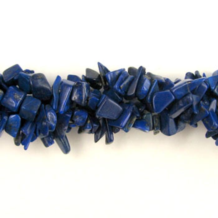 SPSC020 - Lapis Lazuli Stone Chip Beads (36 in. strand)