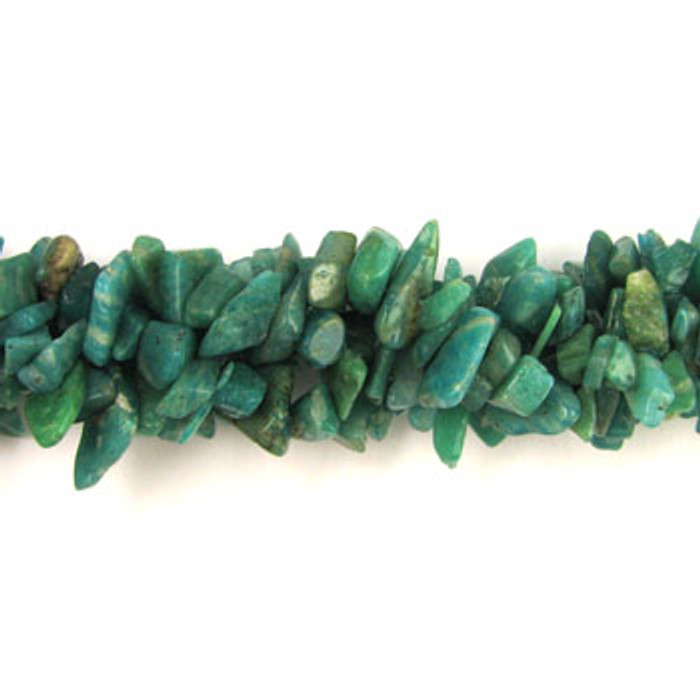 SPSC038 - Russian Amazonite Chips (36 in. strand)