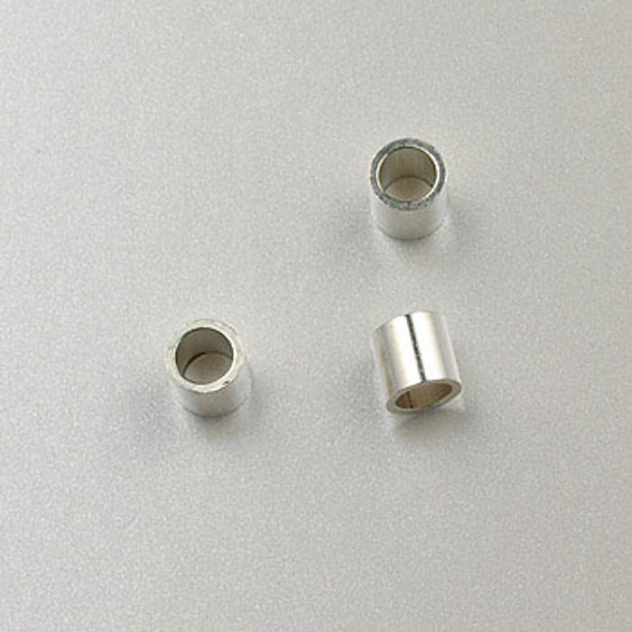SS0042 - 3x3mm Crimp, Sterling Silver (pkg of 50)