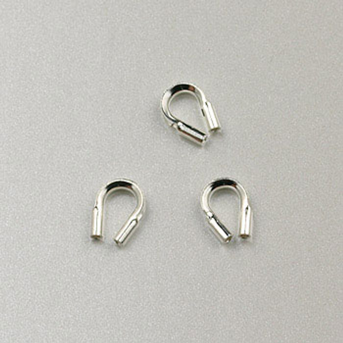 SS0046 - Wire Guardians, .014 in. diameter, Sterling Silver (pkg of 50)