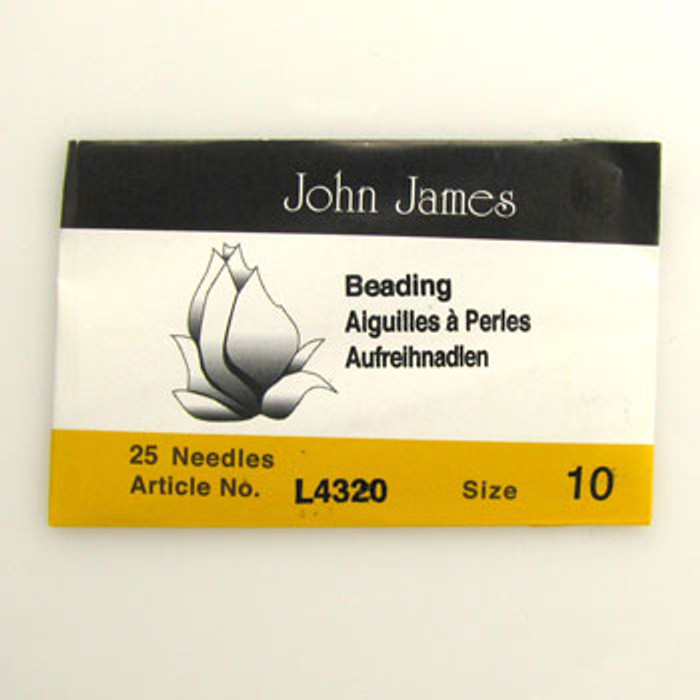 TO0016 - Size 10 Needle, John James (pkg of 25)