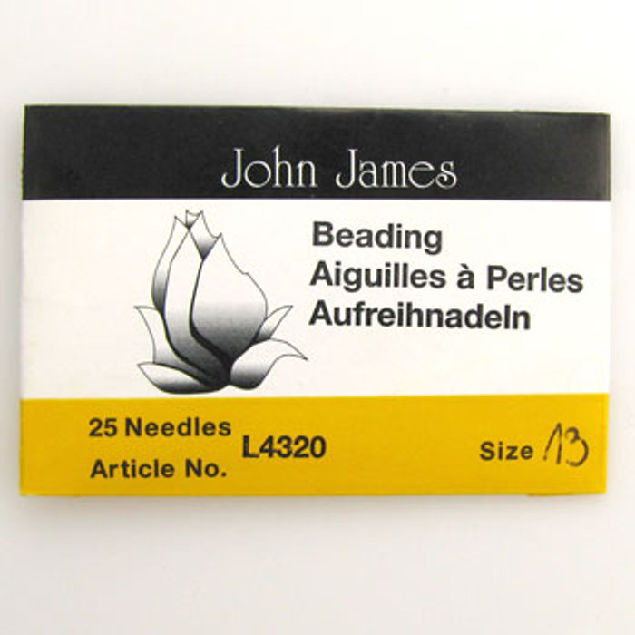 TO0018 - Size 13 Needle, John James (pkg of 25)