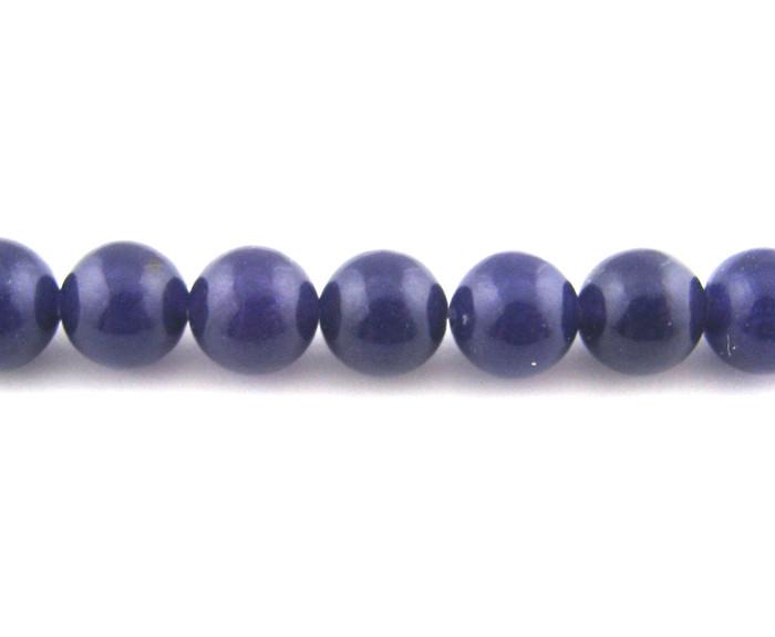 SPS0012 - Purple Jade, 4mm Round (16 in strand)