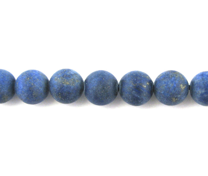 SPS0091 - Matte Lapis Lazuli, 8mm Round (16 in strand)